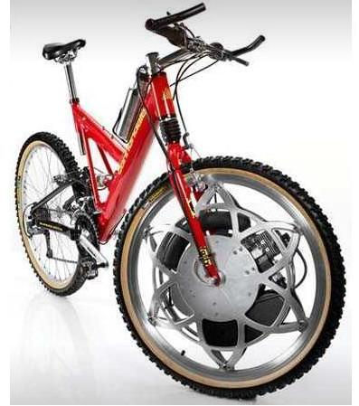 Gas-powered Bicycle